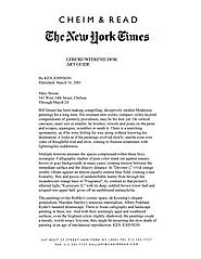 New York Times 3/16/01
